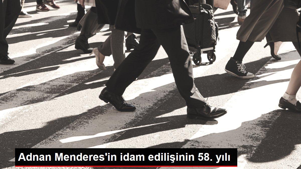 Adnan Menderes'in idam edilişinin 58. yılı