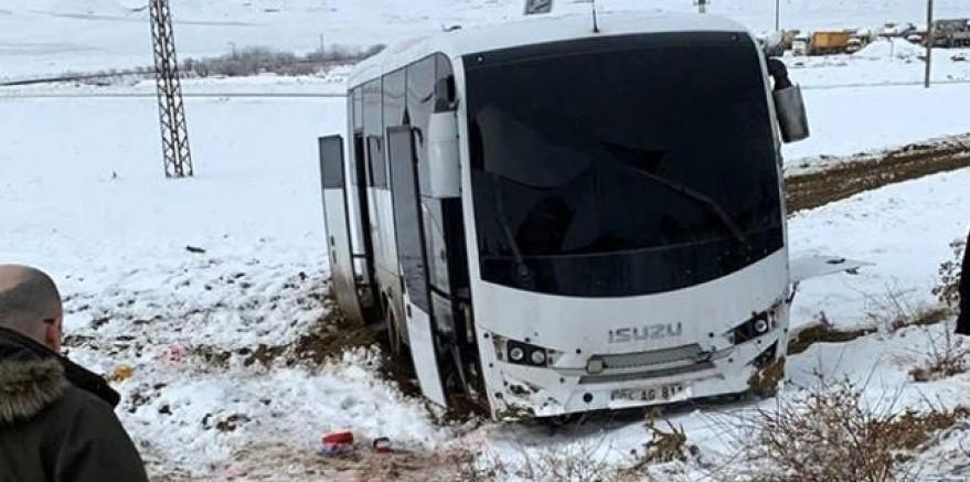 Ağrı'da Gürbulak Gümrük Müdürlüğü'ne ait araca roketli saldırı