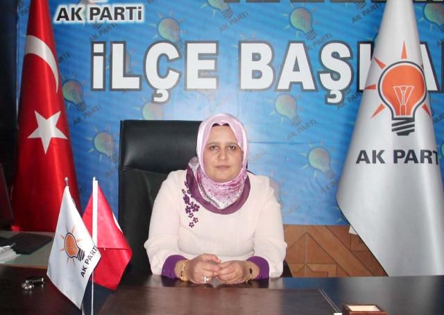 AK Parti Harran İlçe Kadın Kolları Başkanı Huriye Biter Açıklaması
