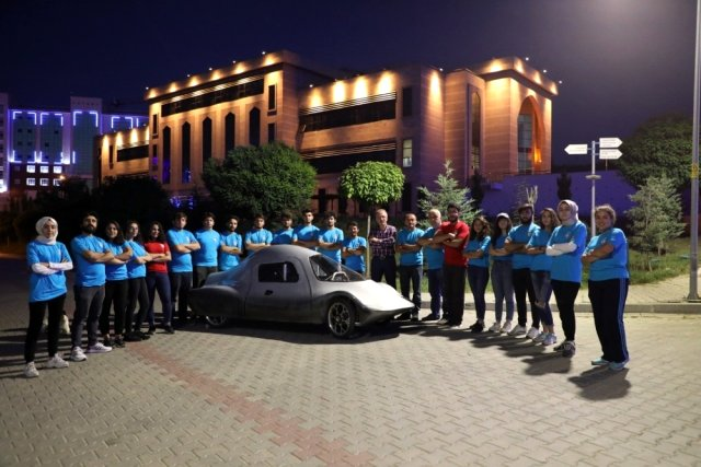 Bartın Üniversitesi'nin ikinci elektrikli otomobili