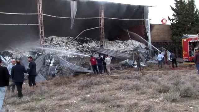 Çırçır fabrikasında korkutan yangın