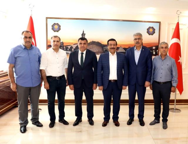 Desob'dan Başkan Atilla'ya Ziyaret