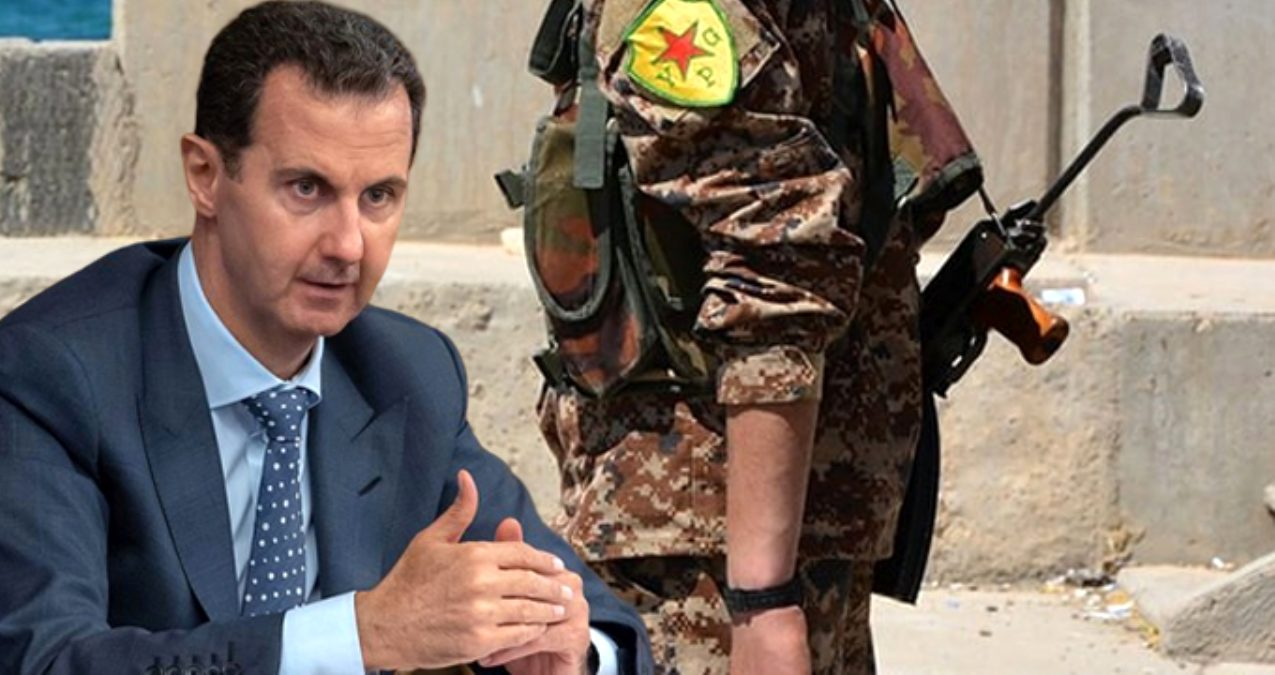 Esed rejimi: Değişken politikaları nedeniyle YPG'yle diyaloğu durdurduk
