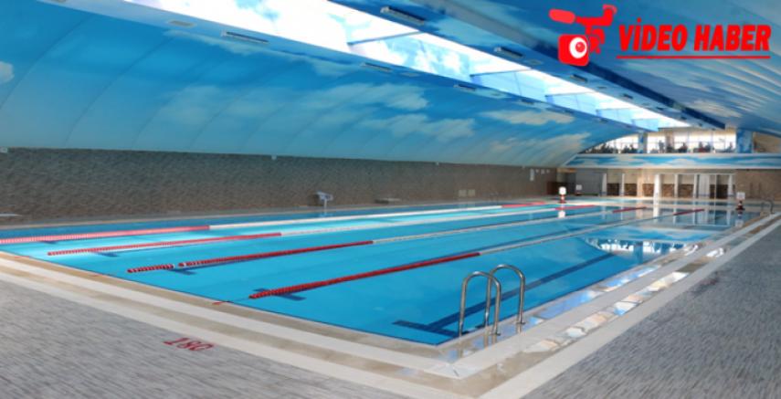 GAP Vadisi Yüzme Havuzu Vatandaşların Hizmetine Sunuluyor