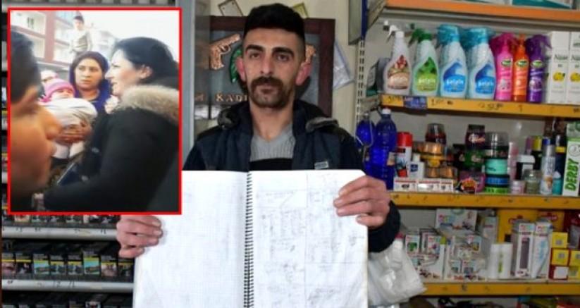Gizemli yardımsever Robin Hood, Aksaray'da yardım yaptıkları mahalleli tarafından görüntülendi