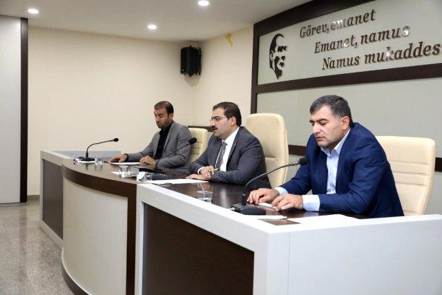 Haliliye Belediye Meclis Toplantısı gerçekleşti