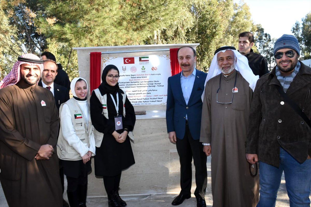 Kuveytli hayırseverler Şanlıurfa'da 16 derslikli okul yaptıracak