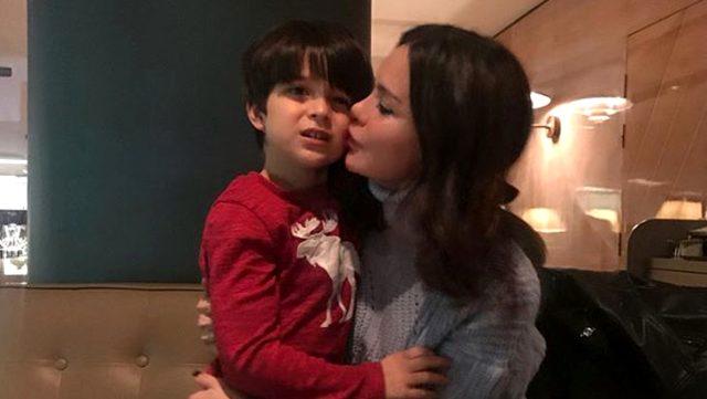 Oğlunu kaybeden Ebru Şallı'dan ilk paylaşım: Ponçiğim benimlesin hep