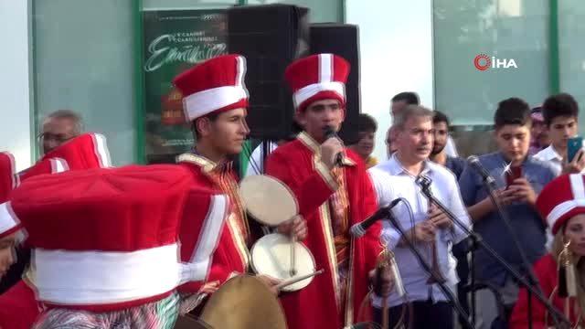 Şanlıurfa engelli mehteran takımından Mehmetçik'e anlamlı destek