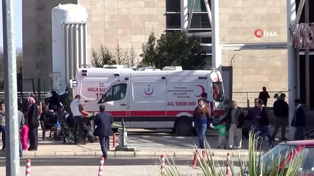 Telabyad'da yaralanan siviller Akçakale'de taburcu edildi