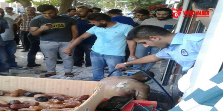 Urfa'da İş İsteyen Adam Kendini Yaktı