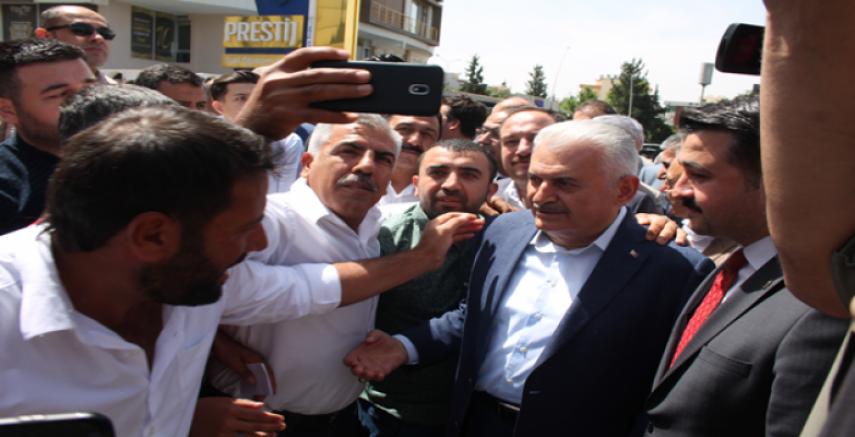 Yıldırım AK Parti İl Binasını Ziyaret Etti